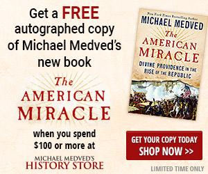 free autographed copy of Michael Medved's new book