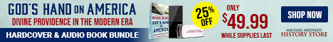 God's Hand on America Audio Book Bundle
