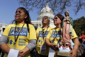 Immigration supporters from Arizona attend rally in favor of comprehensive immigration reform on West side of Capitol Hill in Washington