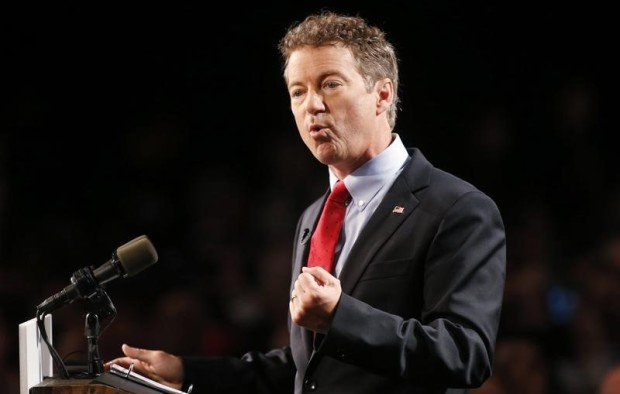 U.S. Senator Paul announces candidacy for president during an event in Louisville