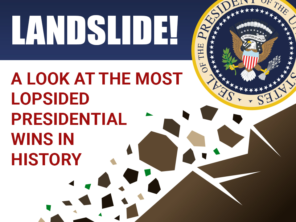 LANDSLIDE! A Look at the Most Lop-Sided Presidential Wins in History