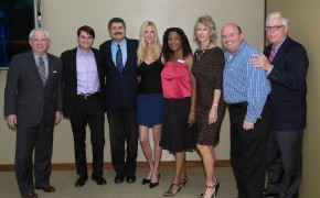 Michael Medved along with High Hewitt, Ann Coulter and the KRLA staff.