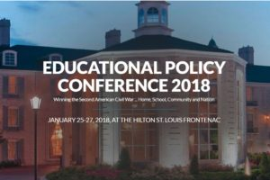EDUCATIONAL POLICY CONFERENCE 2018