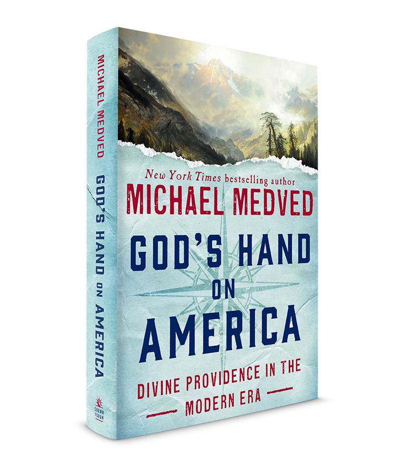 GOD'S HAND ON AMERICA Exclusive Autographed Copy
