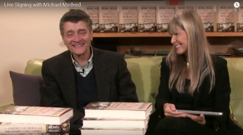 WATCH: Michael's Live Book Signing