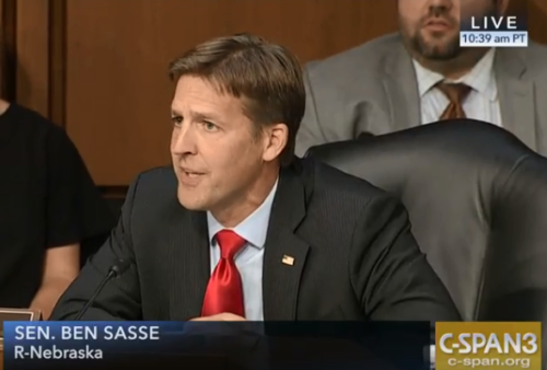"Sasse on Kavanaugh Hearing: ""We Can and We Should Do Better Than This"""